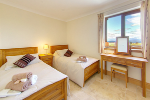 Inchmalloch Holiday Cottage Bedroom - Luxury Holiday Accommodation