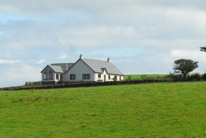 Gorgeous views surrounding Inchmalloch Holiday Cottage in rural south west Scotland