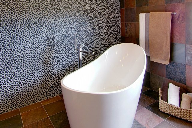 Modern Bathroom in Inchmalloch Holiday Cottage - Luxury Accommodation