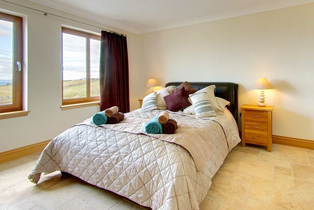 Double Bedroom in Inchmalloch Scottish Holiday Cottage