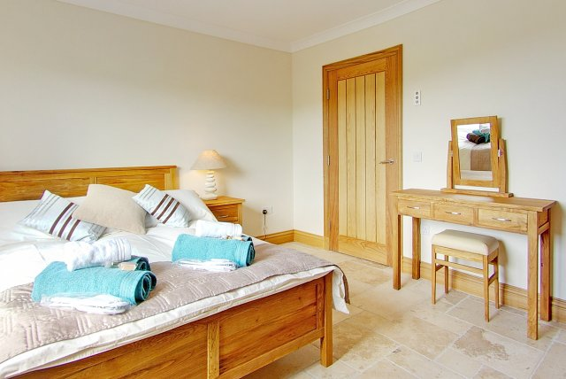Spacious bedrooms - Luxury Scottish Accommodation