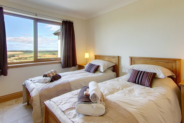 Spacious rooms with fantastic views - Scottish Holiday Accommodation