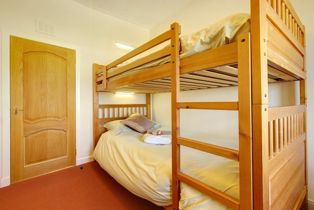 Bunk beds at The Cotthouse self catering cottage