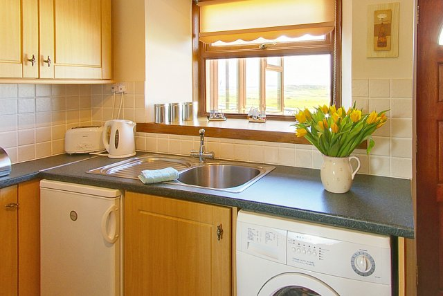 Kitchen at The Cotthouse holiday cottage