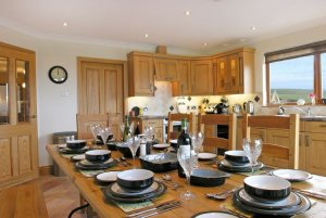 Dundrum Holiday Cottage Kitchen