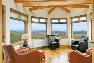 Dundrum Holiday Cottage Sunroom