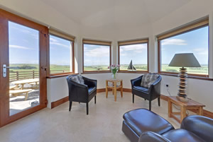 Mill Wheel Sun Room - self catering holiday in Scotland