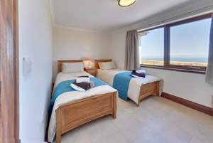 Mill Wheel self catering Twin Bedroom