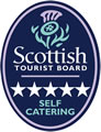 Visit Scotland 5 Stars Self Catering